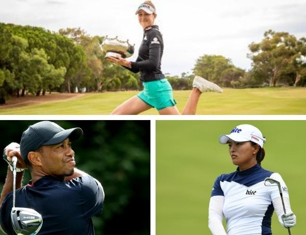 The best golfers of 2020